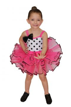 Image of girl child in 'Betty Boop' costume for Preschoolers by JAKSA