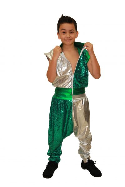 Image of young boy in 'Out of This World' boy's costume by JAKSA