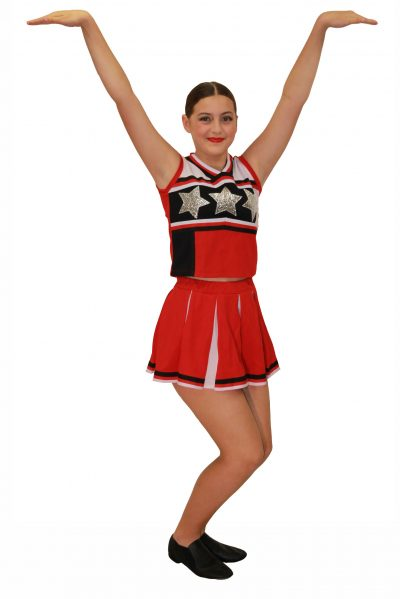 Image of teenage girl in 'Cheer It' costume by JAKSA