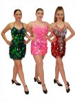Burlesque – Green, Pink & Red