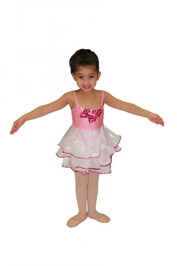 Sugar Plum Fairy (Pink Sequin Embellishment)