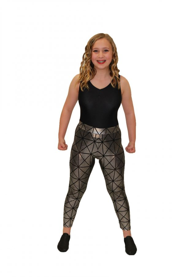 Silver Diamond Leggings